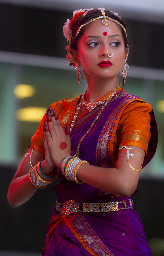 Dewali NYC 2018 Female Classical Dancer